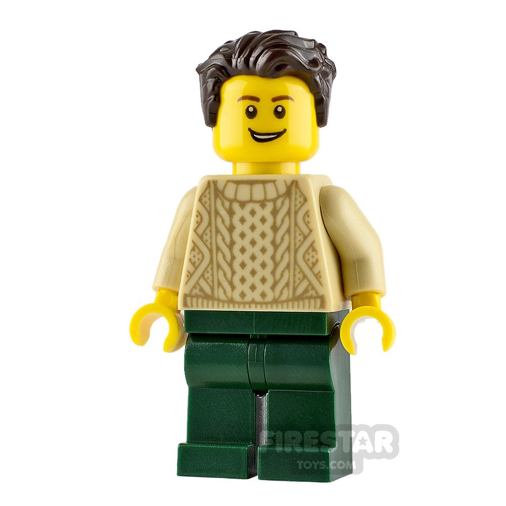 LEGO City Minifigure Knit Sweater