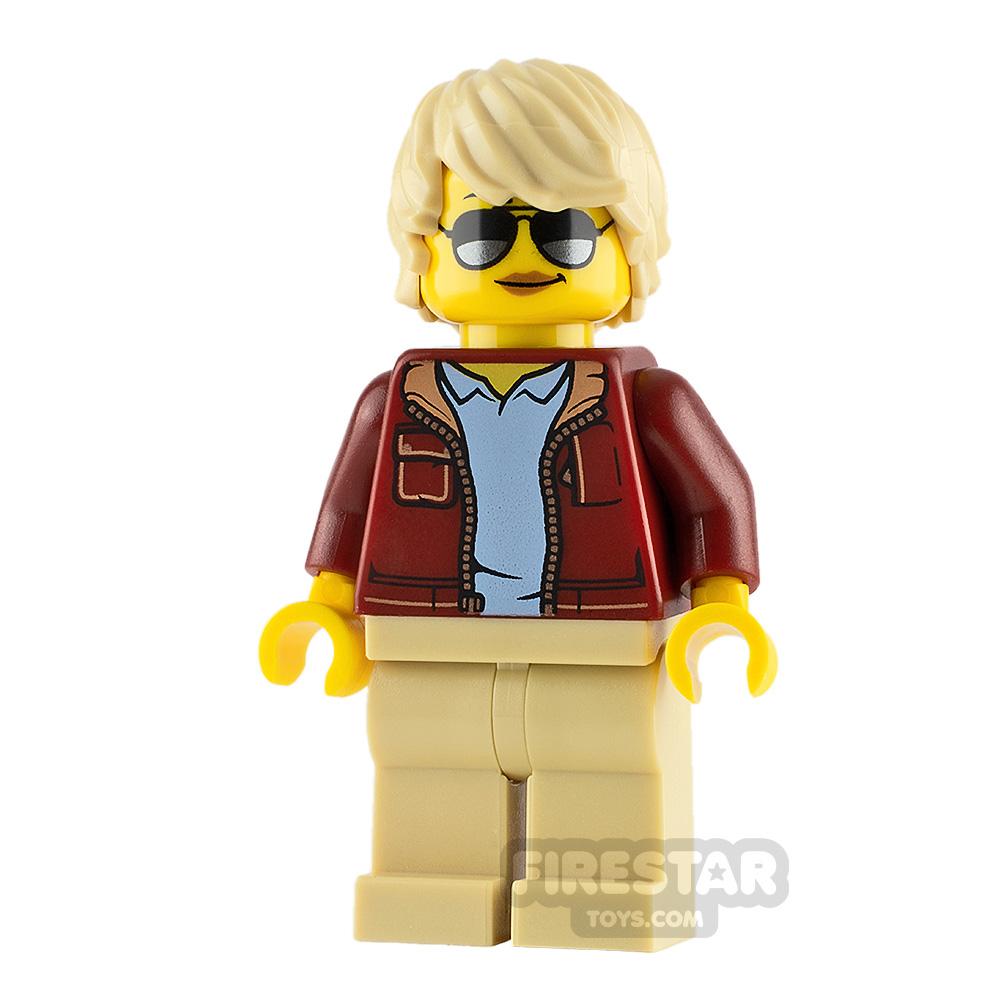 LEGO City Minifigure Bomber Jacket