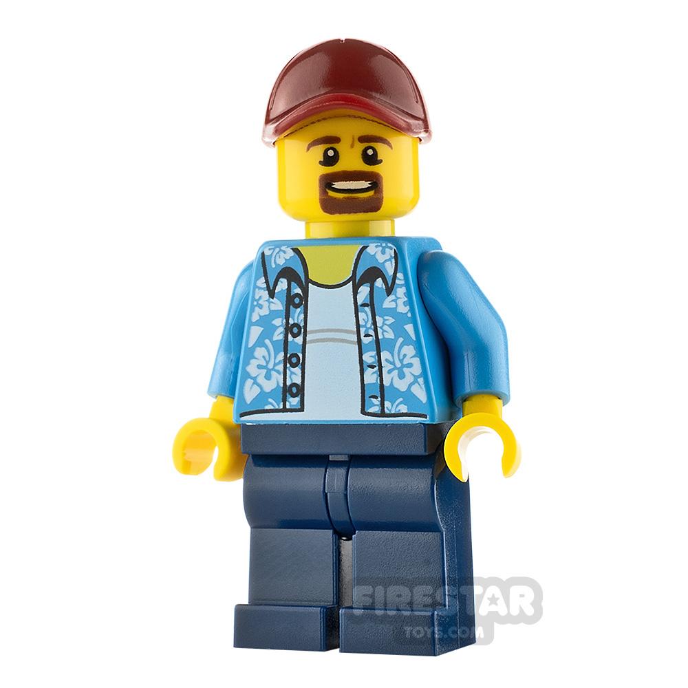 LEGO City Minifigure Hawaiian Shirt