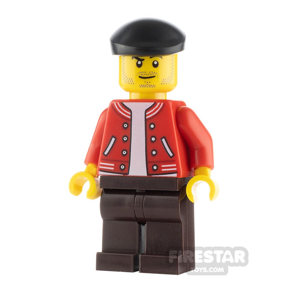 LEGO City Minfigure Newsstand Operator
