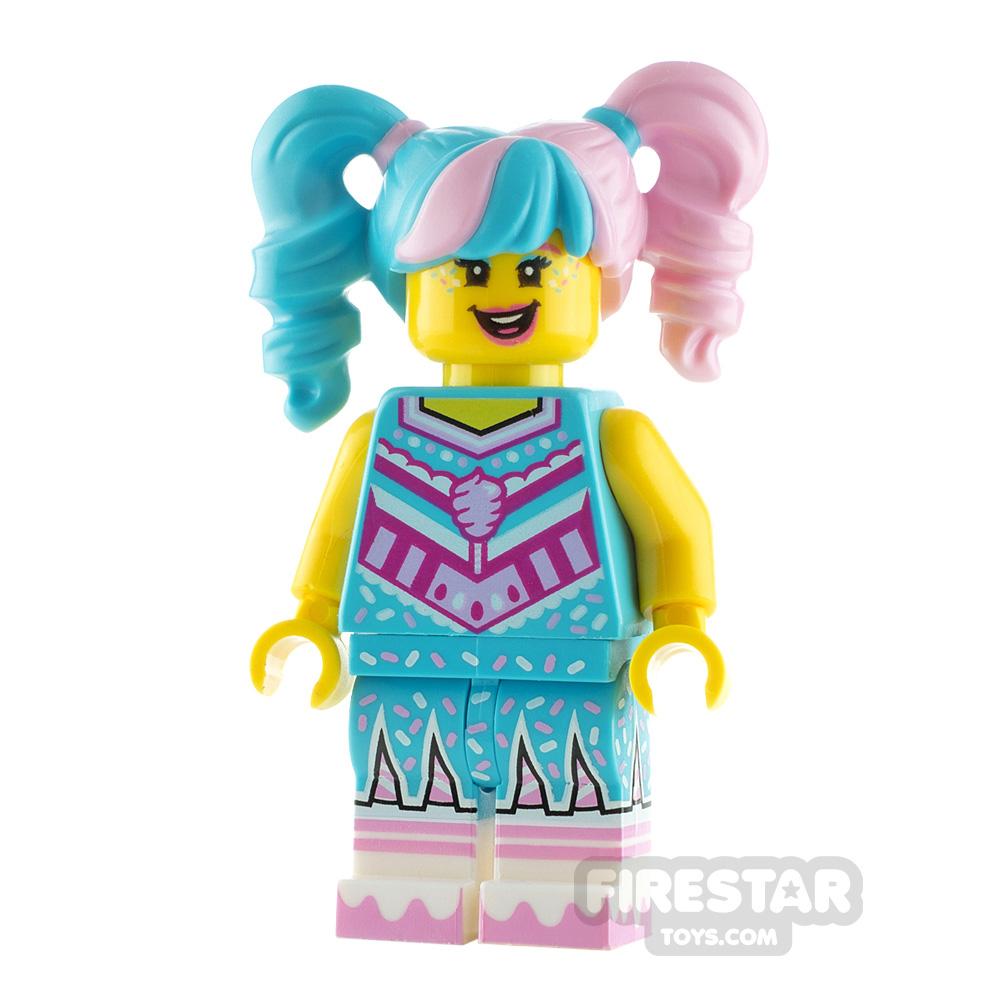 LEGO Vidiyo Minifigure Cotton Candy Cheerleader