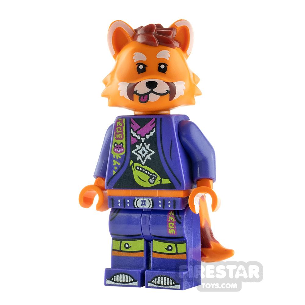 LEGO Vidiyo Minifigure Red Panda Dancer