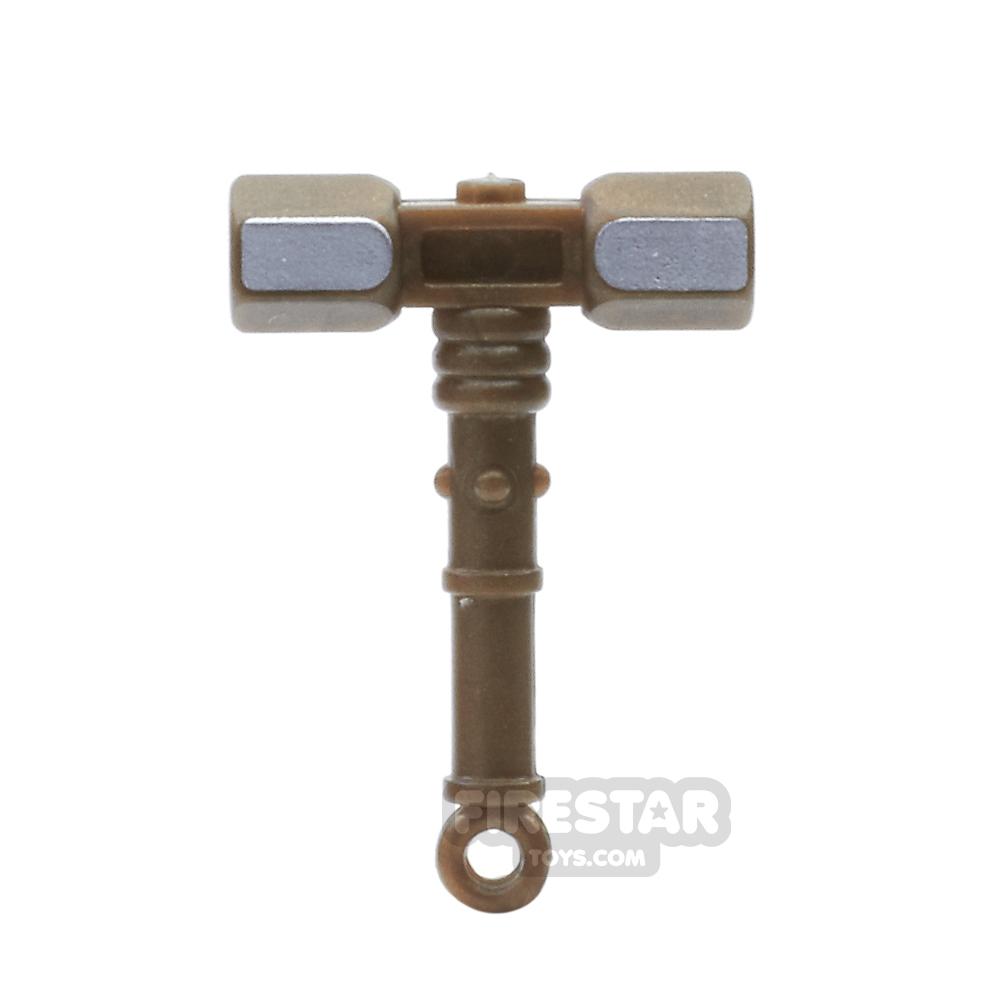 BrickForge - War Hammer - Bronze and Silver
