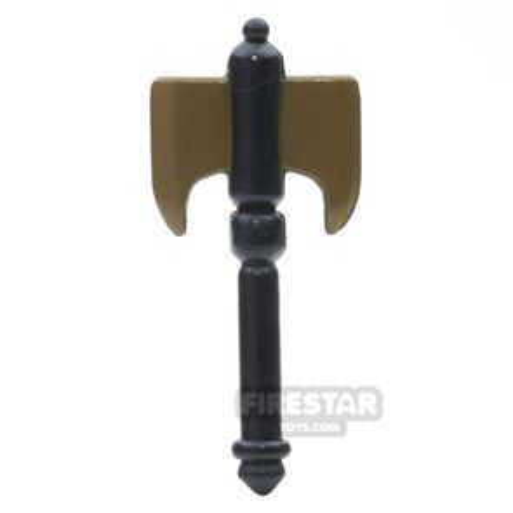 BrickForge - Battle Axe - Bronze Blade Black Handle