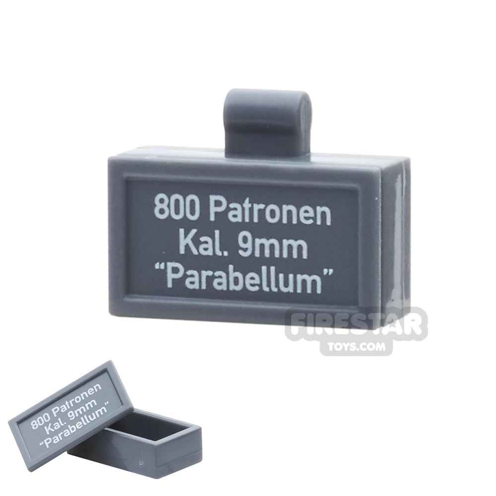 BrickForge - Ammo Case - Dark Blueish Gray - Parabellum