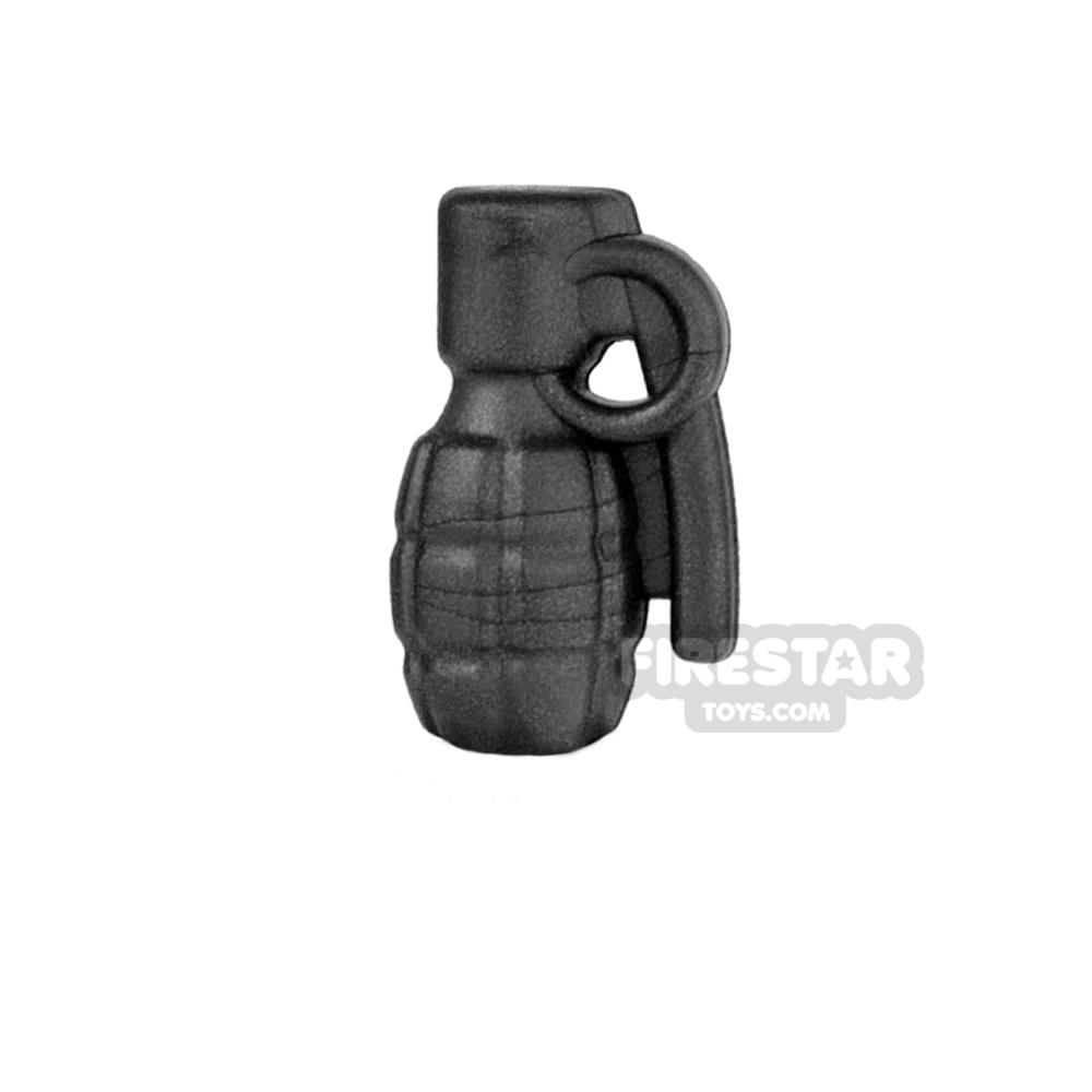 BrickWarriors - Frag Grenade - Steel