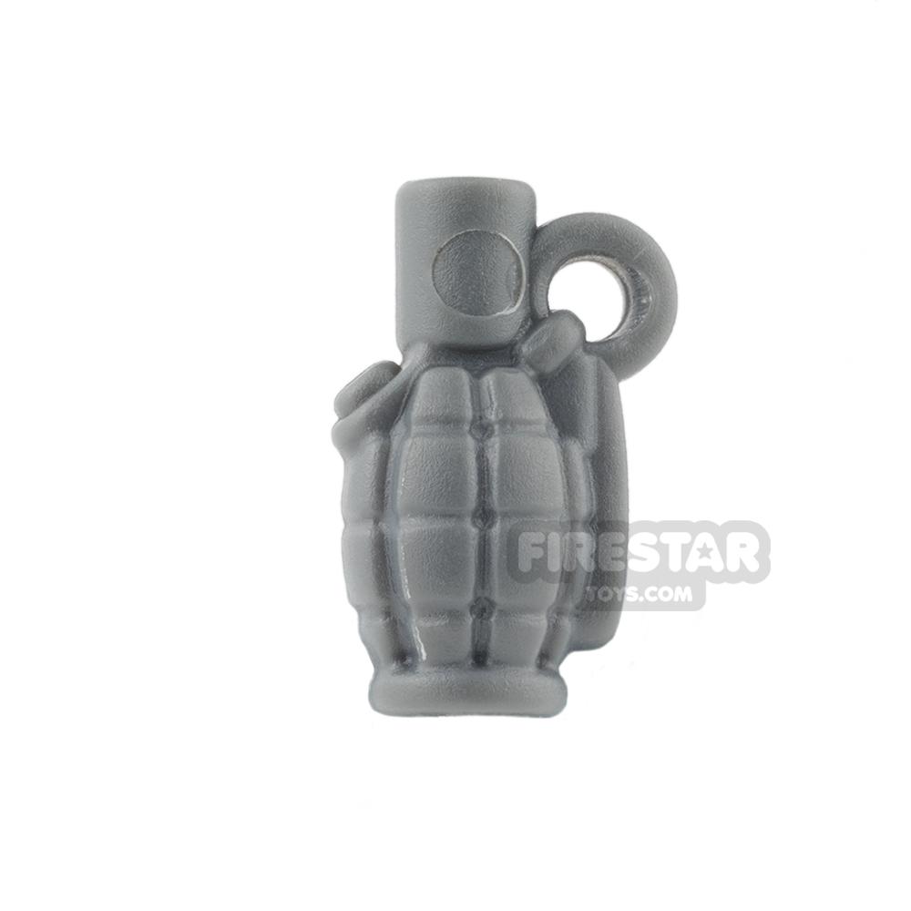 BrickWarriors - Allies Grenade - Dark Gray