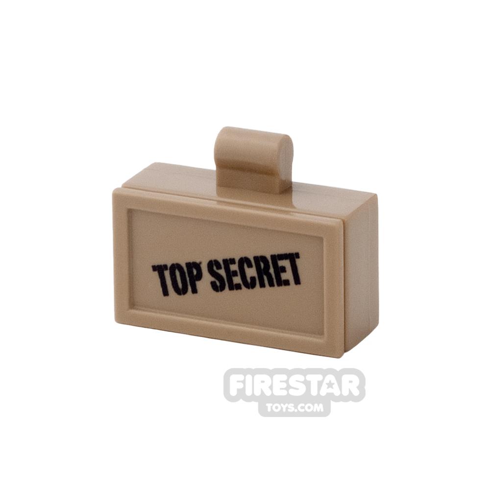 BrickForge - Ammo Case - Top Secret - Dark Tan