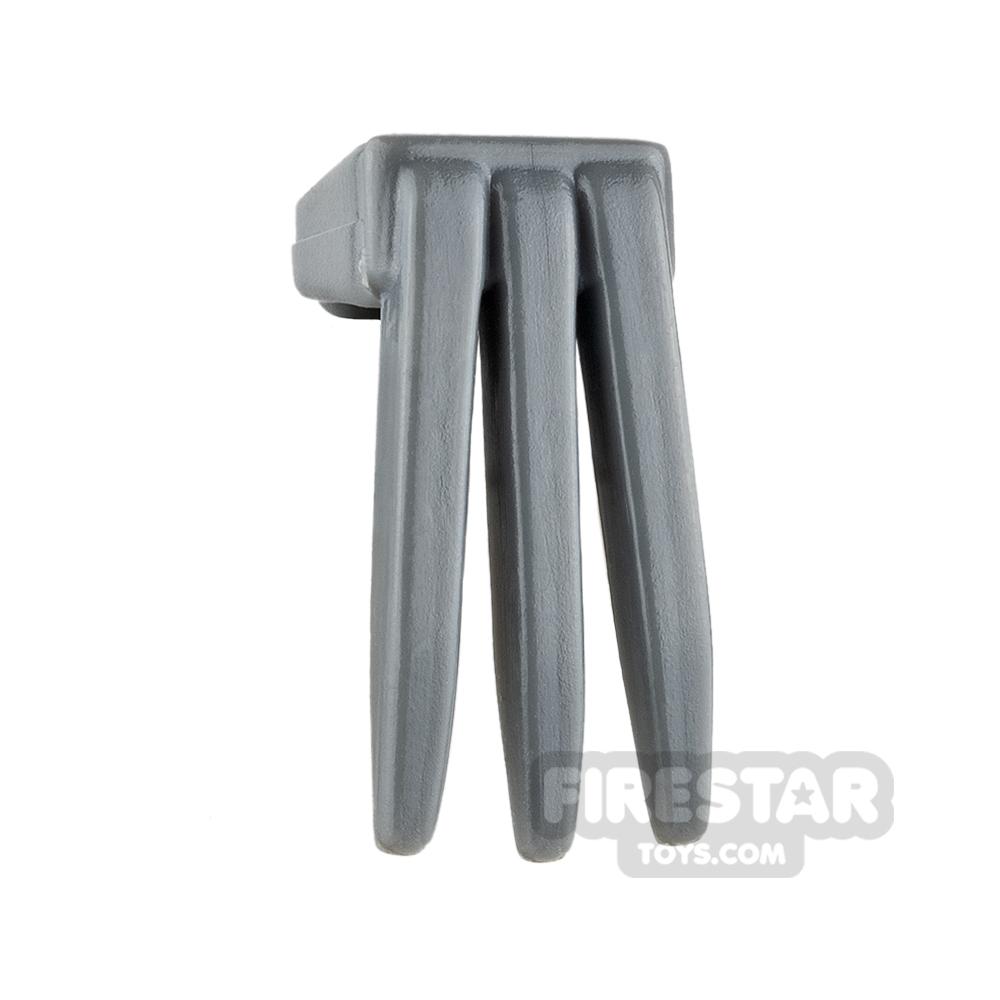 BrickForge - Fighting Claw - Dark Blueish Gray