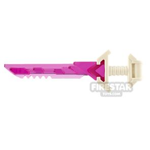 LEGO Sword with Wide Pommel and Serrated Blade