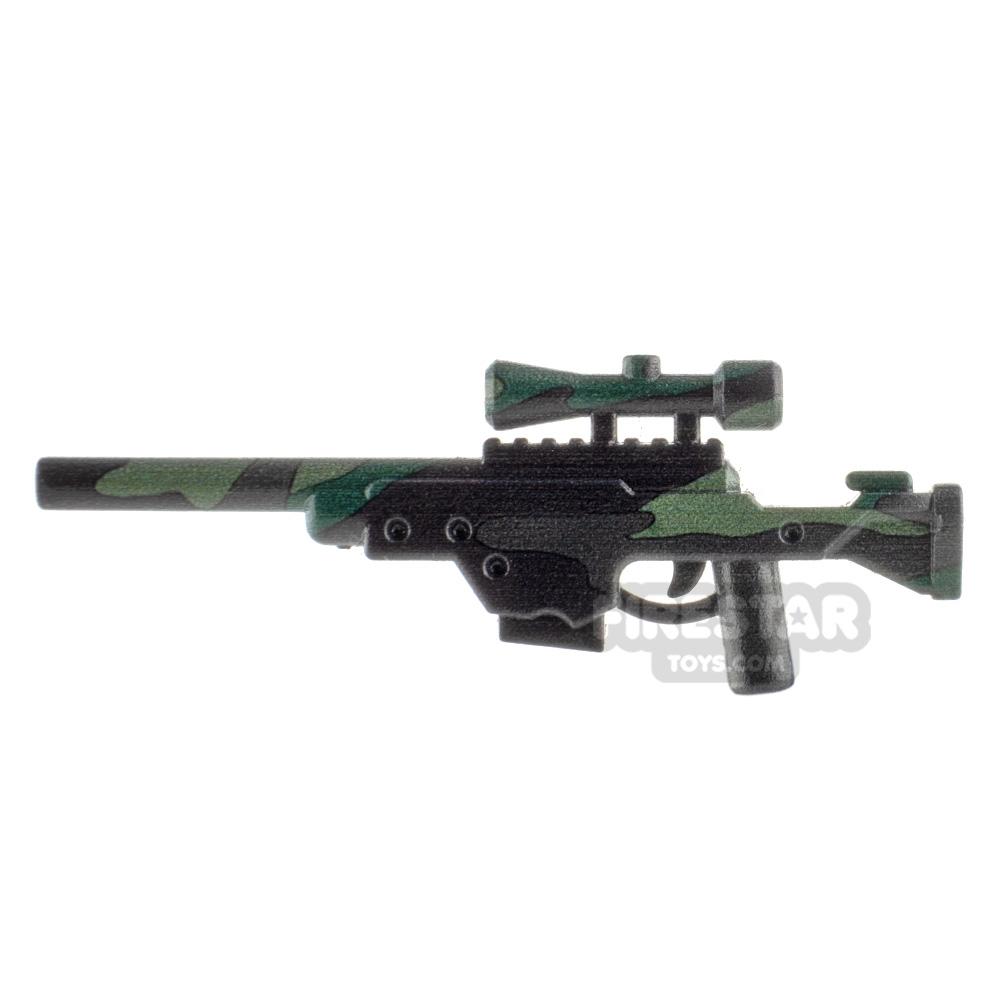 BrickTactical L96 Sniper Rifle Woodland Camo