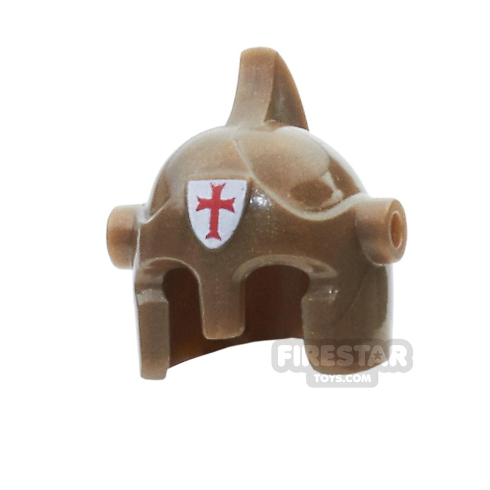 BrickForge - Battle Helmet - Bronze - Holy Judgement
