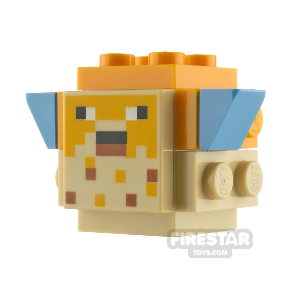 LEGO Minecraft Minifigure Pufferfish Adult