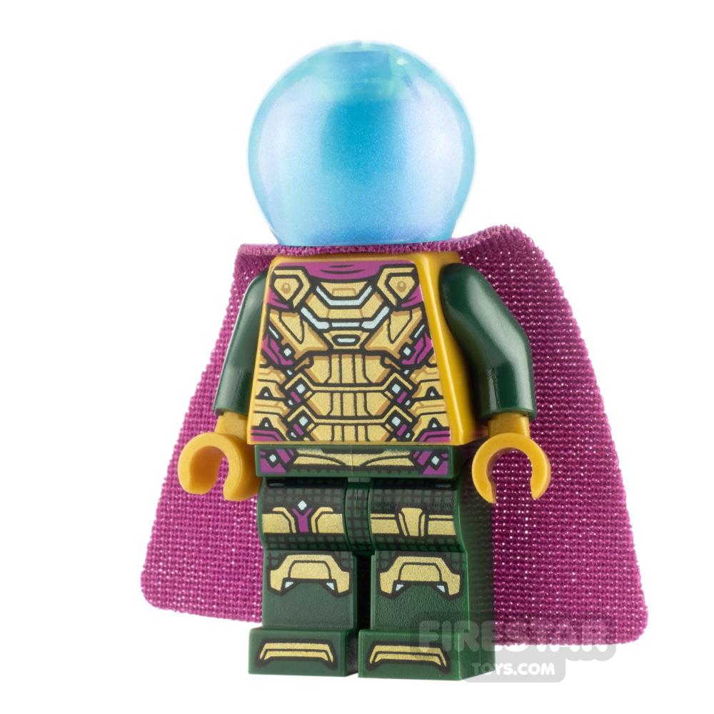 LEGO Super Heroes Minifigure Mysterio with Magenta Trim